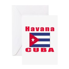 Havana Cuba Designs Greeting Card