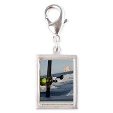 fishingjpg Silver Portrait Charm