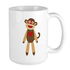 Sock Monkey Mugs