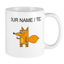 Custom Cartoon Red Fox Mugs