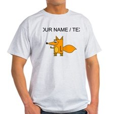 Custom Cartoon Red Fox T-Shirt
