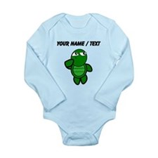 Custom Cartoon Turtle Thinking Body Suit