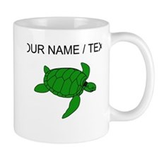 Custom Green Sea Turtle Mugs