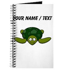 Custom Happy Sea Turtle Journal