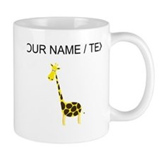 Custom Cartoon Giraffe Mugs