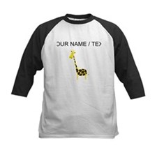 Custom Cartoon Giraffe Baseball Jersey