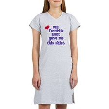 favorite-aunt Women's Nightshirt