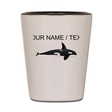 Custom Orca Whale Shot Glass