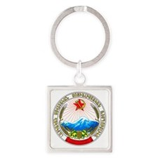 ArmeniaCoatofArms Square Keychain