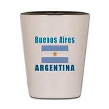 Buenos Aires Argentina Designs Shot Glass