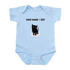 Custom Black Kitten Body Suit