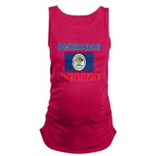 Belmopan Belize Designs Maternity Tank Top