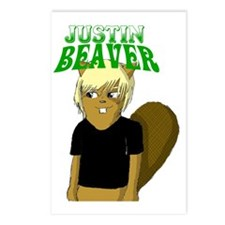 justin-beaver Postcards (Package of 8)