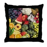 Cool Healthy diet Throw Pillow