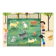 dog_park_calendar Postcards (Package of 8)