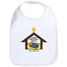 BABY JESUS IN THE MANGER Bib