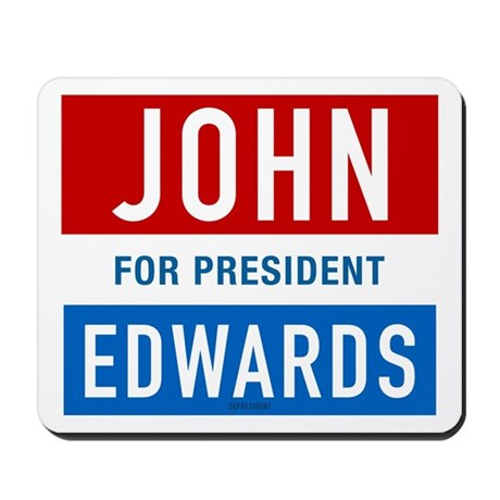 John Edwards Classic Mousepad
