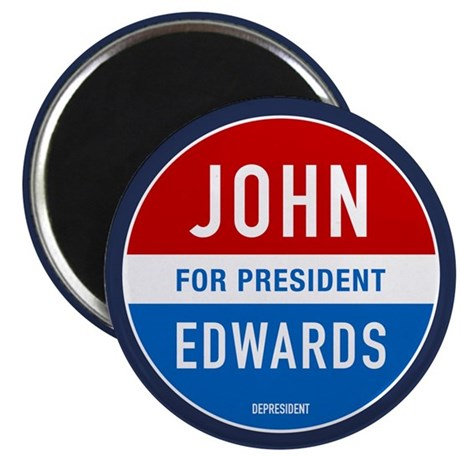 "John Edwards Classic 2.25"" Magnet (100 pack)"