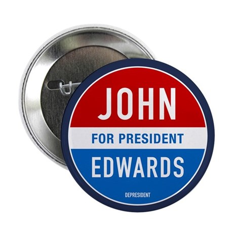 "John Edwards Classic 2.25"" Button (100 pack)"
