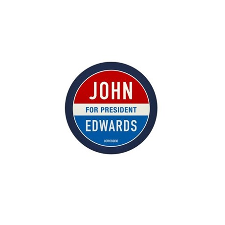 John Edwards Classic Mini Button (100 pack)