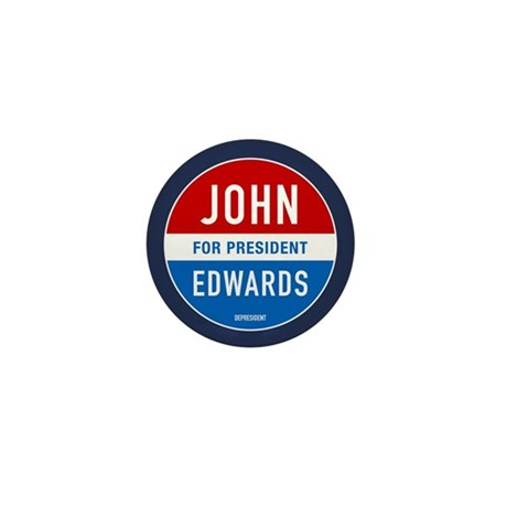 John Edwards Classic Mini Button