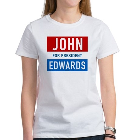 John Edwards Classic Womens T-Shirt