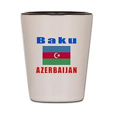 Baku Azerbaijan Designs Shot Glass