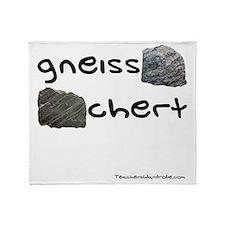 Gneiss Chert Throw Blanket