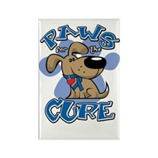 Paws-for-the-Cure-Colon-Cancer-bl Rectangle Magnet