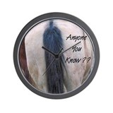 Horses Ass Wall Clock