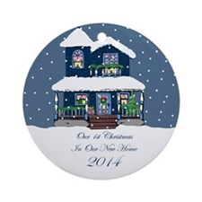 First Home Christmas Ornament 2014