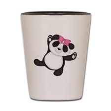 Happy Panda Shot Glass