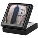 Horses Ass Keepsake Box