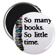 2-logo so many books Magnet