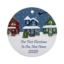 First Christmas New home Ornament 2020