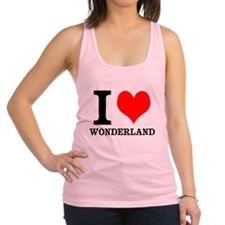 I heart wonderland Racerback Tank Top