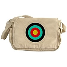 archerytargetsafe-01 Messenger Bag