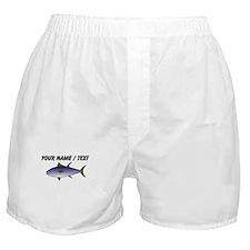 Custom Tuna Fish Boxer Shorts