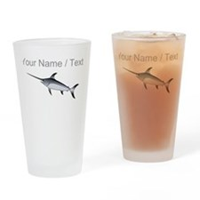 Custom Marlin Drinking Glass