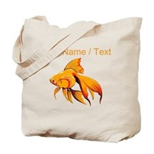 Custom Goldfish Tote Bag