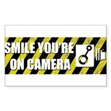 Smile youre on camera Decal