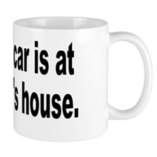 yourmomshousebumperstickersmall Mug