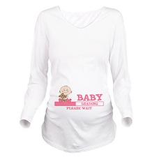 Baby Loading Long Sleeve Maternity T-Shirt