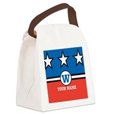Custom Monogram Republican Inspired Canvas Lunch B