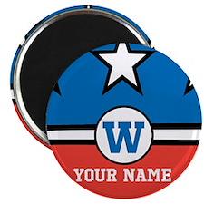 Custom Monogram Republican Inspired Magnet