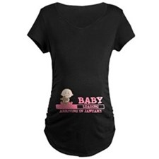 Arriving in January Maternity T-Shirt