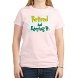 Retired Fun:-) Women's Pink T-Shirt