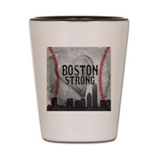 Boston Strong by Vetro Jewelry & Design Shot Glass