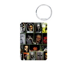 Faces of Halloween Keychains