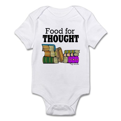 Food for Thought Infant Bodysuit